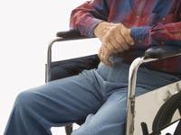 פנסיה זקן כיסא גלגלים / צלם: פוטוס טו גו